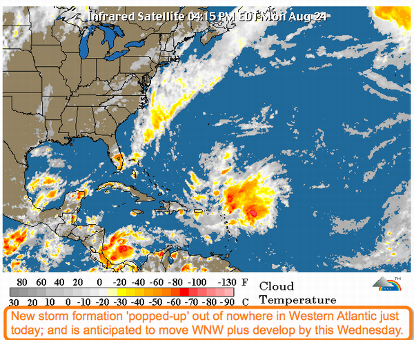 New Storm In The Atlantic