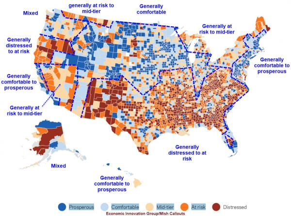 Economic Areas of The U.S.
